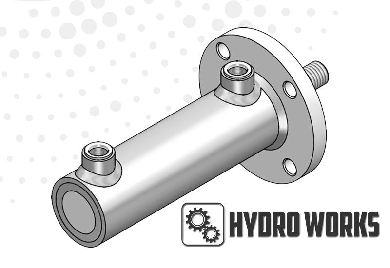 Chłodny Siłowniki hydrauliczne – różne specyfikacje: oferta Hydro Works QL39